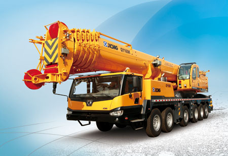 Durable 160Ton QY160K  Hydraulic Mobile Crane With LCD Display