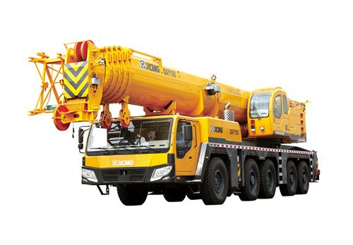 Durable Safety Transportion 180T Hydraulic Mobile Crane , QAY180 All Terrian Crane