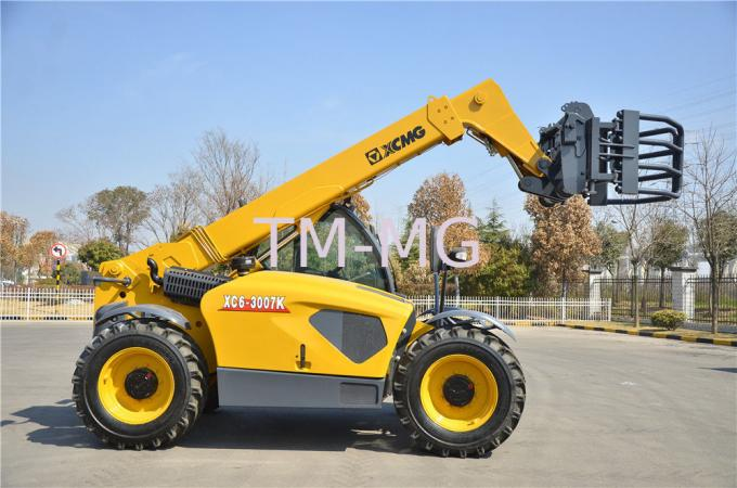 Confortable XC6-3007 Telescopic Telehandler Forklift forklength 1200mm with Deutz engine