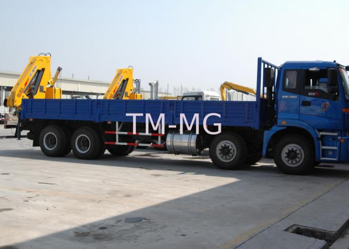 Durable Hydraulic Knuckle Boom Truck Mounted Crane With 13m Max Reach