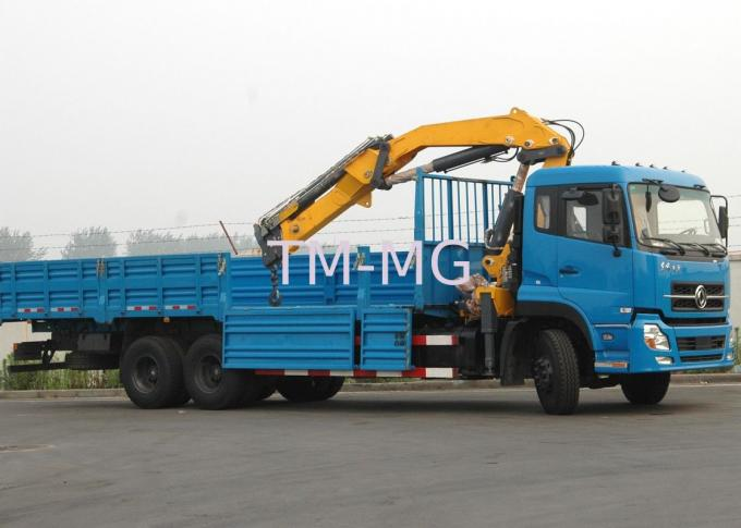 Truck Loader Knuckle Boom Crane, 12 Ton Cargo Truck Mounted Crane with CE Certificate