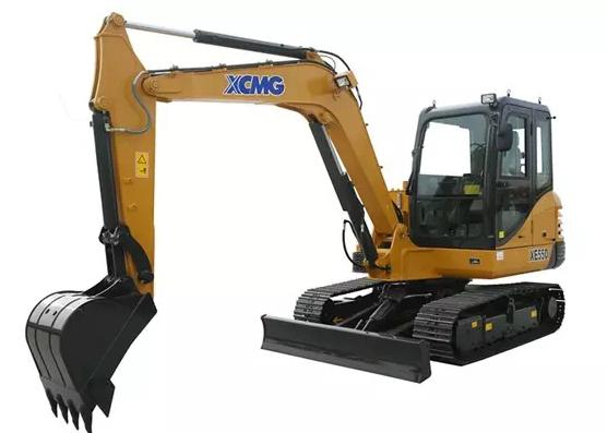 2017 New XCMG 5.5t Mini Crawler Machine Excavator XE55D with Good Performance