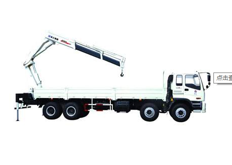 Knuckle Boom Truck Crane / 10 ton mobile crane XCMG  For City Construction