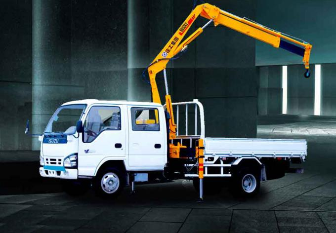 Structure Knuckle Boom Truck Mounted Crane, 5.5m Max Reach Height