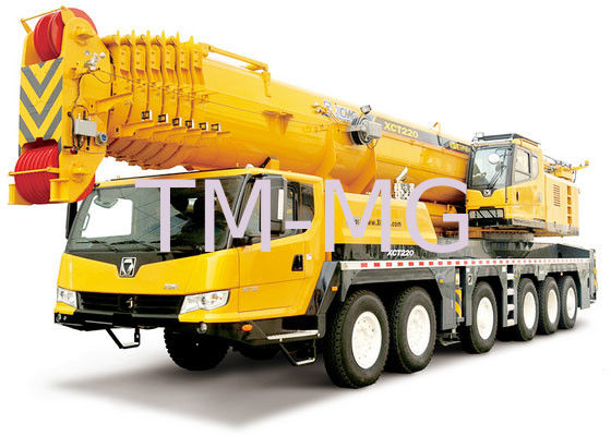 Extended Boom Hydraulic Mobile Crane Large Working Scope XCT220