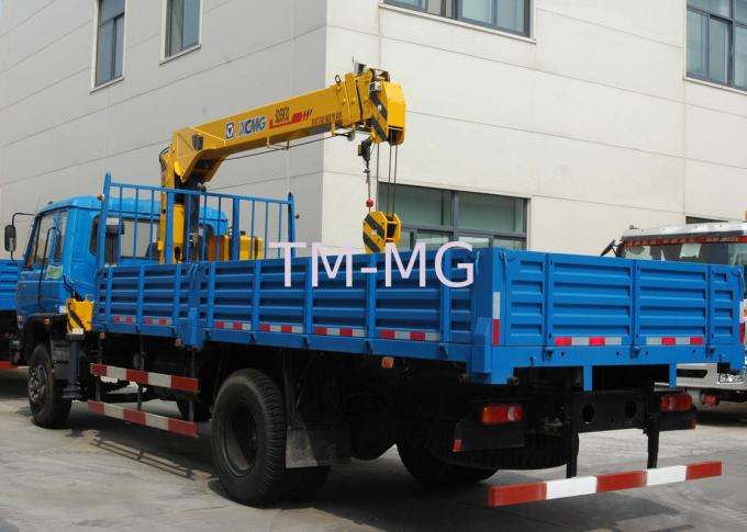 XCMG 5T Max Heavy Things Small Telescopic Boom Truck Mounted Crane
