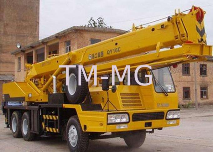 Environmental Friendly QY16C Truck Crane Hydraulic Mobile Crane