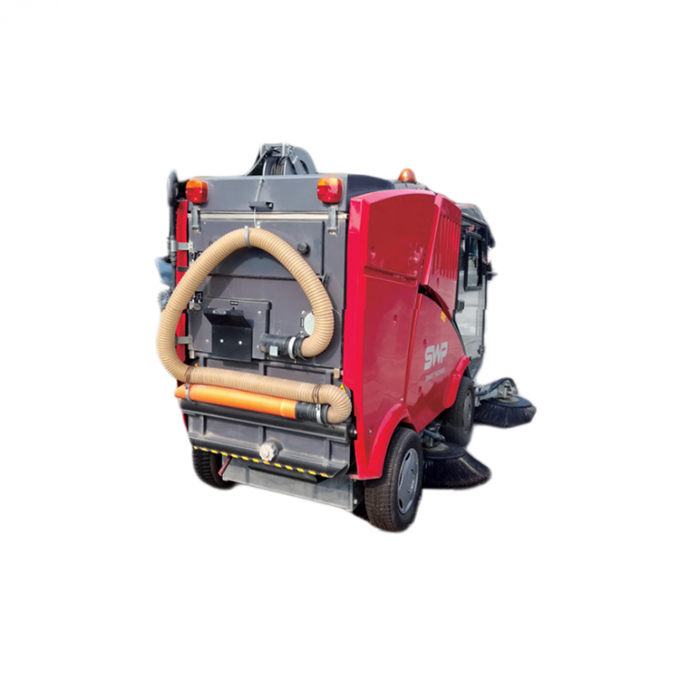 Multifunction Mini Street Sweeper Machine 2.2m Cleaning Width 10km/H