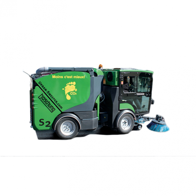 Hydraulic Special Purpose Vehicles Small City Road S2 Pavement Sweeper
