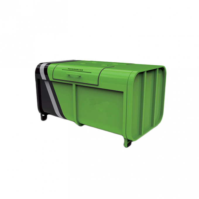 Durable 3m³ 5m³ Mini Garbage Waste Bin For Public Places Easy To Clean