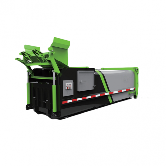 18 Mpa Garbage Collection Equipment Mobile Garbage Compactor Bin