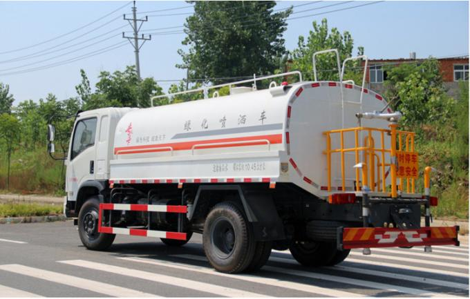 6045kg Special Purpose Vehicles Road Spray Sprinkler For Dust Suppression