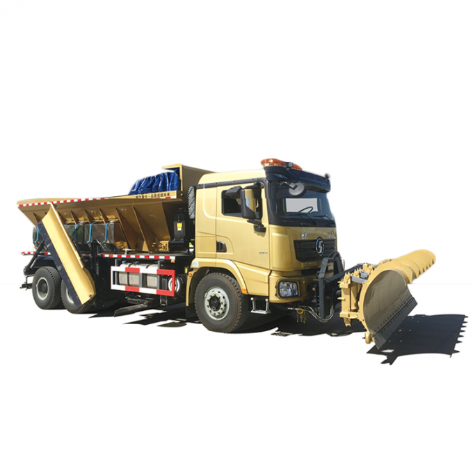 SX5250TCXXB4 Special Purpose Vehicles Triple Snow Shovels Snow Sweeper Truck