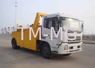China Durable Vehicle Failure Wrecker Tow Truck , Flatbed Type Road Breakdown Recovery Truck supplier