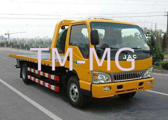 China Durable Occasion Recovery Wrecker Tow Truck With 3 Ton , Boom And Lifting Separated Type supplier