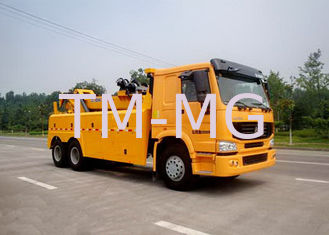 China Durable 100KN Safe Wrecker Tow Truck , Breakdown Recovery Truck For Highway / City Road Clearing Jobs supplier