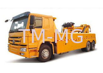 China Durable Higher Efficiency Wrecker Tow Truck , Breakdown Recovery Truck For Treating Vehicle Accidents supplier