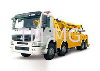 China Durable Custom Wrecker Tow Truck , 200KN Boom / Sling Separated Breakdown Recovery Truck supplier