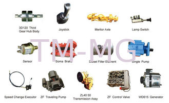 China XCMG 3 Ton Wheel Loader LW300FN And Original Spare Parts 1.8m³ supplier