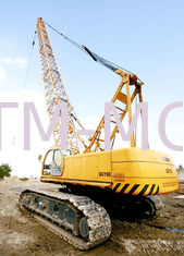China Adjustable Knuckle Boom Length 80m Hydraulic Crawler Crane 28 ton QUY80 supplier