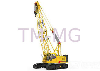 China Durable XCMG Hydraulic Crawler Crane Main Boom Length 50m And Fixed Jib Length 18m supplier