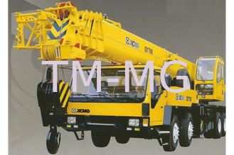 China Durable QY100K-I Truck Crane , Hydraulic Mobile Crane With Embedded Block supplier