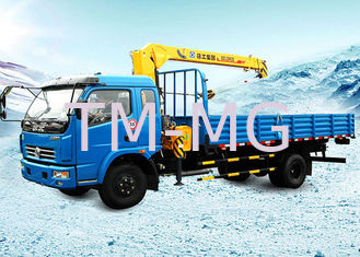 China Durable Hydraulic Truck Loader Crane , Boom Truck Crane 3.2 Ton supplier