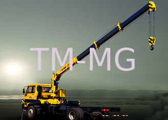 China Durable Heavy Things Lifting Telescopic Boom Truck Mounted Crane , 6.3T supplier