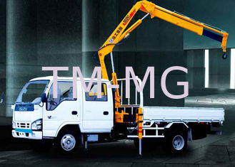China Durable Commercial Knuckle Boom Truck Mounted Crane , 3200kg 6.72 T.M Lifting supplier