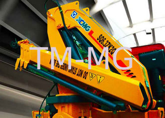 China Hydraulic  6300kg XCMG Truck Mounted Knuckle Boom Crane, Truck Mounted Crane supplier
