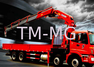 China Fast  Knuckle Boom Truck Mounted Crane For Heavy Things Lifting,16Ton supplier