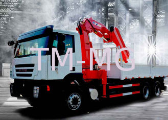China Truck Loader Knuckle Boom Crane, 12 Ton Cargo Truck Mounted Crane with CE Certificate supplier
