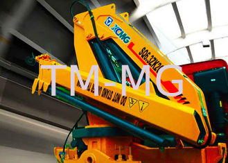 China Durable Hydraulic Knuckle Boom Truck Mounted Crane With 13m Max Reach supplier