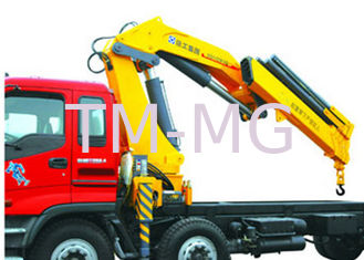 China High Lifting Capacity 14T Knuckle Boom Truck Mounted Crane For Transporting Heavy Things supplier