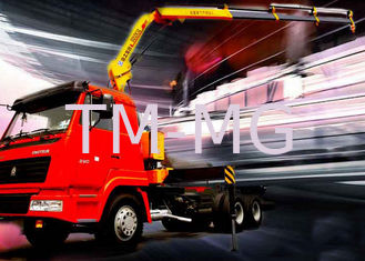 China Effective Transportation Folding Boom Crane, 5 Ton Lorry-Mounted Crane supplier