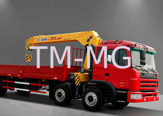 China Safety Telescopic Boom Truck Mounted Crane For Telecommunications facilities supplier