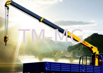 China XCMG 5 Ton Telescopic Boom Truck Mounted Crane For Landscape Jobs supplier