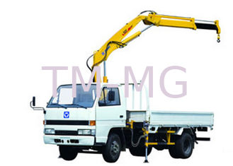 China Durable Raise Down Articulated Boom Crane 1400kg For Greening Work supplier
