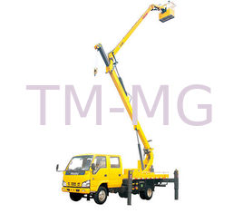 China 2T Lifting Capacity XCMG Bucket articulating boom truck 360 Slewing Angles supplier