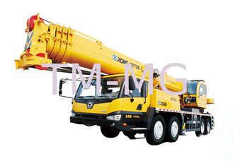China Extended Boom Mobile Hydraulic Crane Large Working Scope QY70K-I supplier
