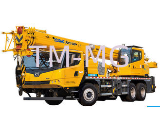 China XCT16  16 Ton industrial portable truck crane With Hydraulic Outriggers supplier