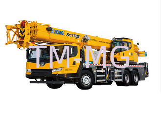 China 35t Hydraulic Mobile Crane , XCT35 XCMG telescopic truck crane supplier