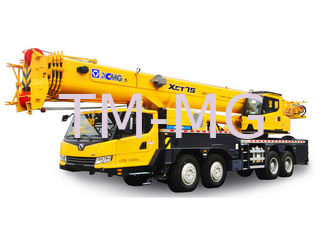 China truck mounted boom Hydraulic Mobile Crane XCT75 easy to operate supplier
