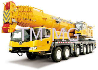 China XCT8L4 yellow truck mounted mobile crane For Lifting Operation supplier