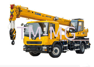 China Extended Streamline XCT12L4 Truck Hydraulic Mobile Crane excellent performance supplier