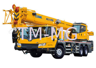China Energy Efficient mobile crane truck , telescopic truck boom crane XCT25L5 supplier