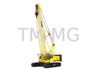 China XCMG Hydraulic Crawler Crane Main Boom Length 52m And Fixed Jib Length 16m supplier