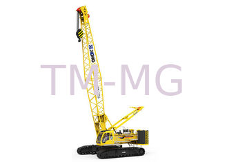 China Heavy Lifting XGC130  Hydraulic Crawler Crane 130Ton And Jib Length 25m supplier