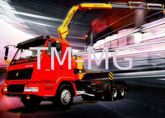 China 5 Ton Knuckle Boom Truck Crane , Light Truck Loader Crane Cargo use supplier