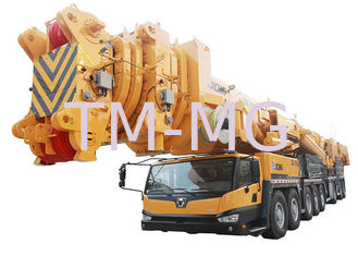China Hydraulic QAY800 mobile lift crane Durable 7- segment All Terrian supplier